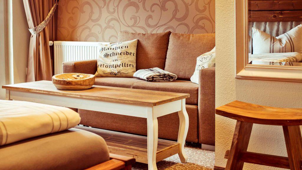 Hotel Keppler´s Ecke - Hotelzimmer mit Sitzecke