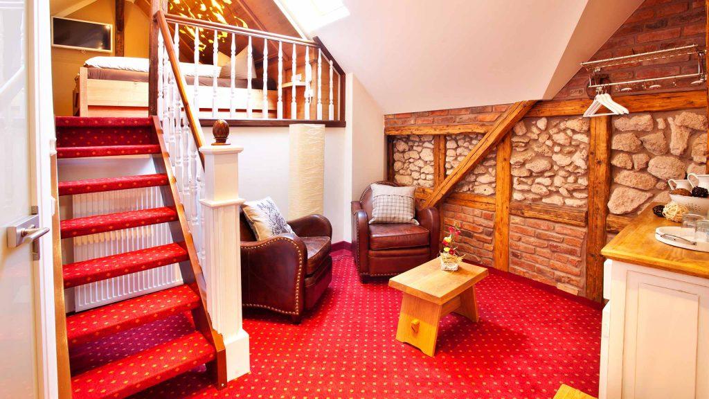 Hotel Keppler´s Ecke - Doppelzimmer mit Schlafetage