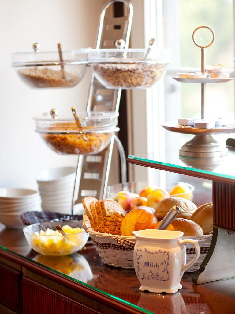 Hotel Keppler´s Ecke - Auswahl am Frühstücksbüffet