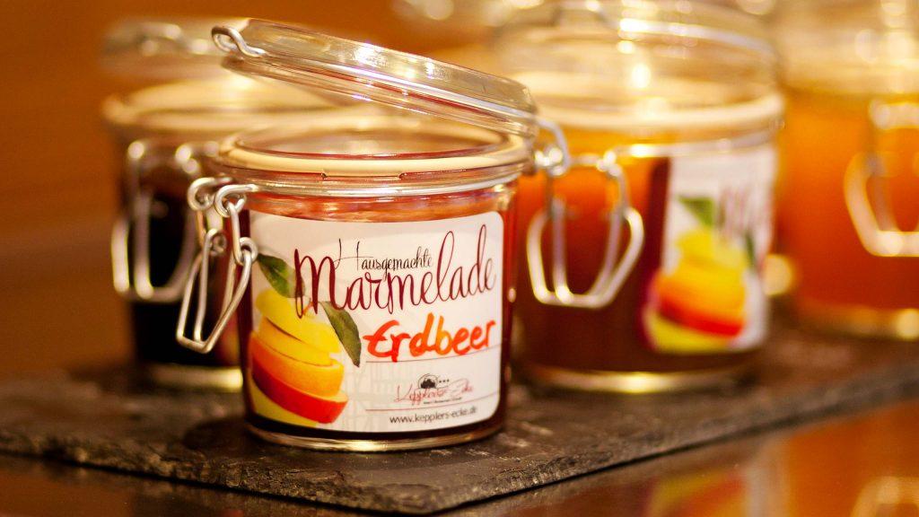 Hotel Keppler´s Ecke - hausgemachte Marmelade