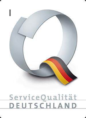 Logo des ServiceQualität Deutschland (SQD) e.V.