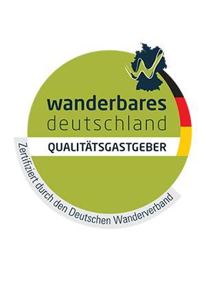 Gastgeber-Logo der Deutscher Wanderverband Service GmbH
